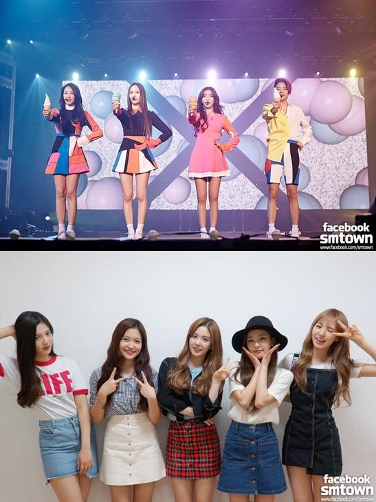 Red Velvet (레드벨벳) ,f(x) (에프엑스)