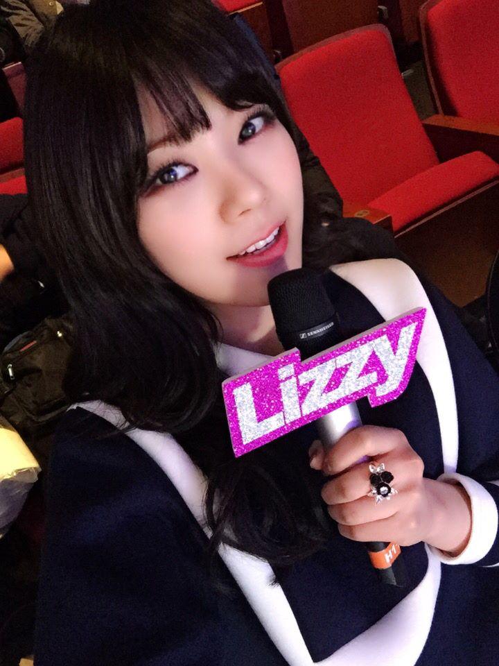 苦主就是After School的Lizzy!