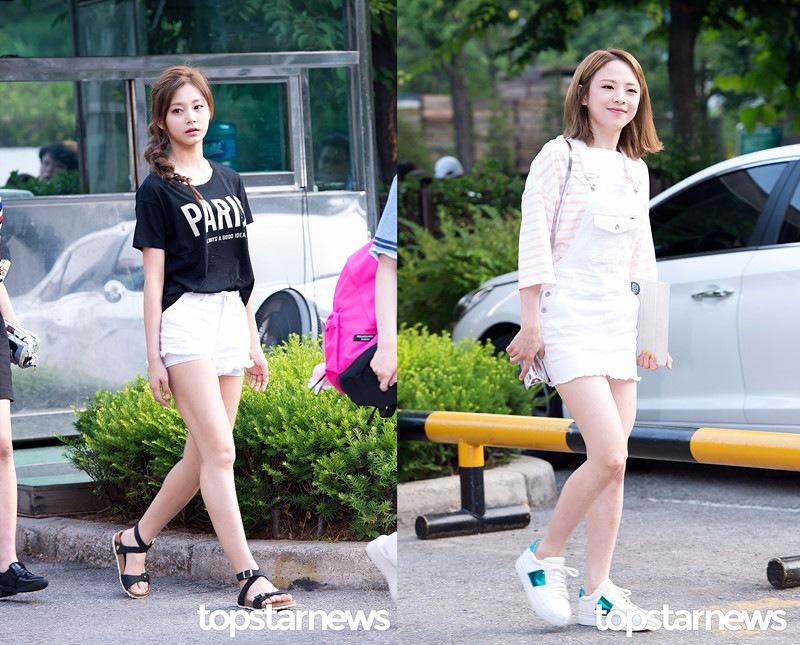 除此呢,像白色短褲、吊帶裙等單品也都很適合夏天的氣氛