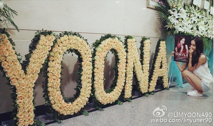 在中國舉辦粉絲會的時候,流暢的中文實力讓潤娥幾乎可以全程不用帶翻譯,還有獻唱多首中文歌~潤娥真的是很認真的藝人~~~
