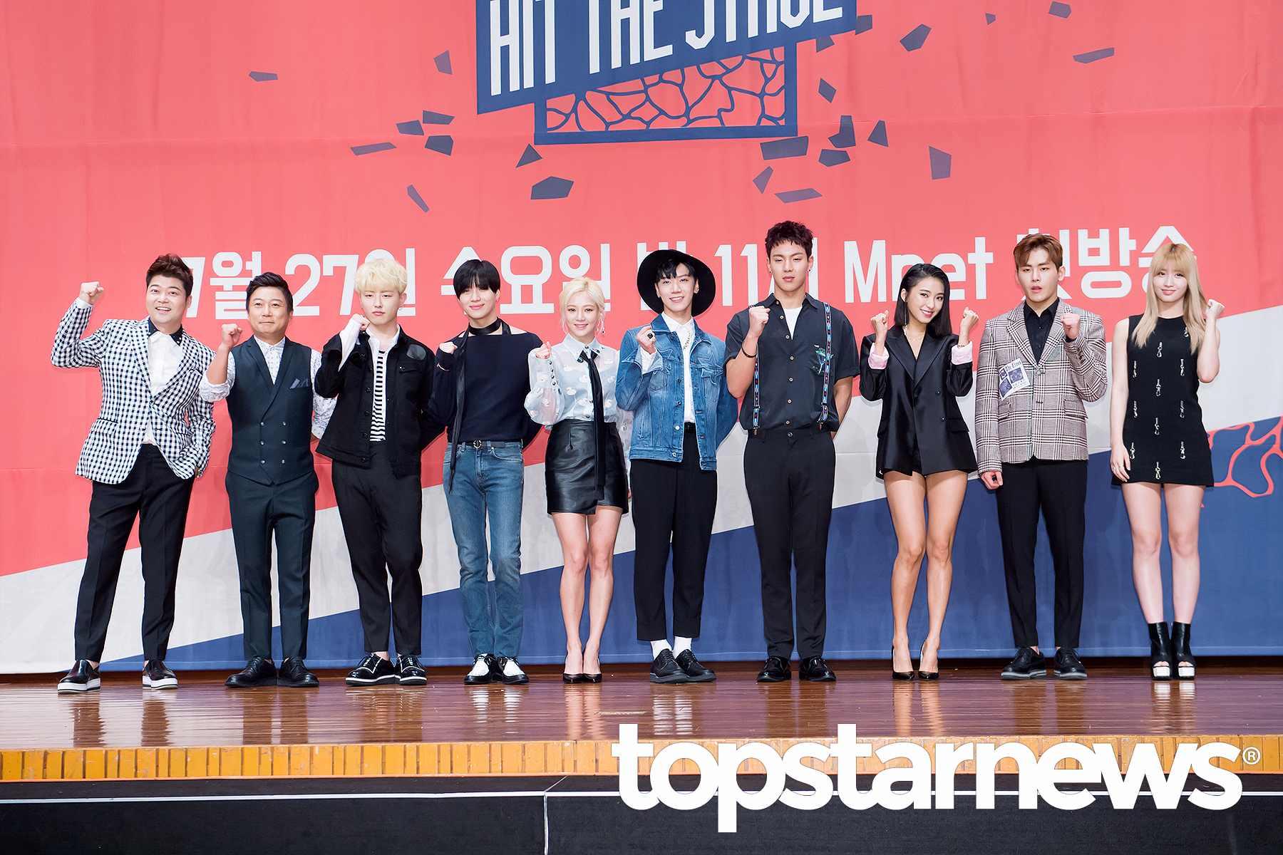 Mnet新節目《Hit The Stage》本周三首播,創下平均1.8%,最高2.3%的收視率~而第一集就要參賽歌手們,脫掉偶像的外衣,變得「邪惡」起來!