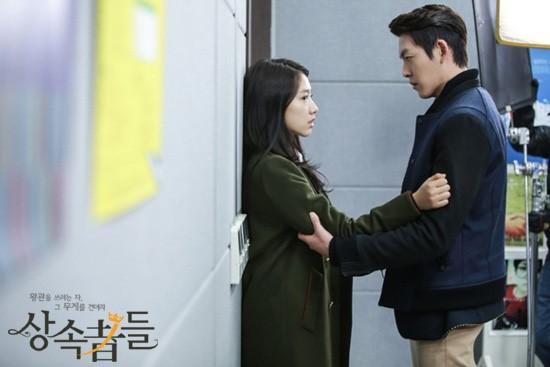跟宇彬雖然沒有什麼親熱戲,但是光是擁抱就讓人揪心~想要大喊「安堆~~~~~~~~~~~」不要!
