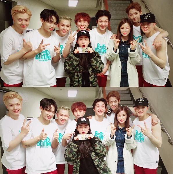 私底下的他們還為彼此應援,粉絲根本不會懷疑他們之中有人在偷偷談戀愛!連韓國八卦媒體也從來沒有懷疑過他們的友情!