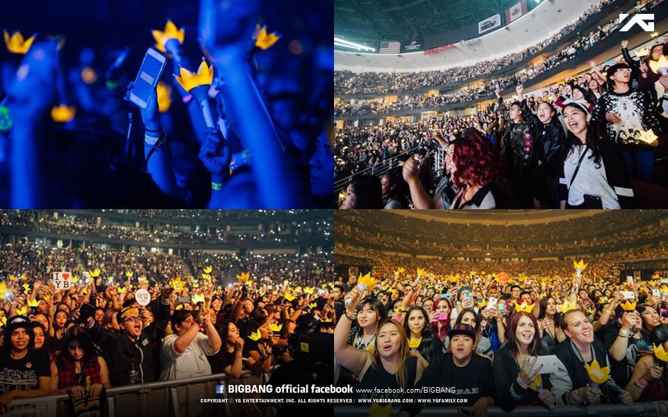 採訪的記者撰文說,2015年10月,BIGBANG在加州的演唱會,讓許多粉絲邊看邊哭,許多外國媒體大吃一驚~說,這就像是當年的「新好男孩(Backstreet Boys)」,粉絲竟然都在哭~被這樣的畫面給衝擊~