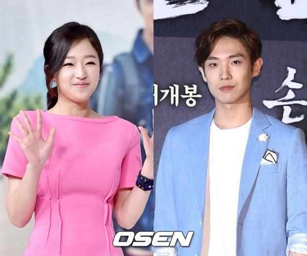 飾演姜素英的曹秀香,在同年和李準合作岀演了KBS的獨幕劇《鬼神在幹什麼》,並分別擔當男女主角呦~~