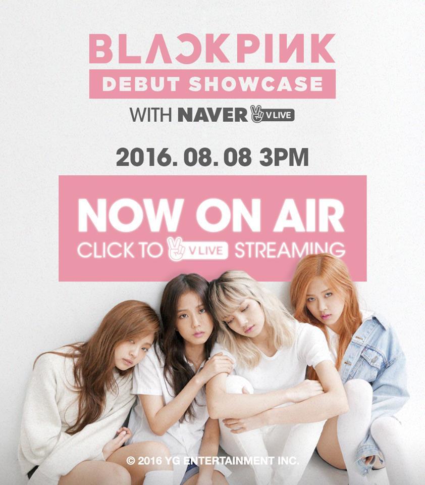 YG的都市傳說終於打破~新女團Black Pink在今天下午韓國3點(台灣時間2點),於VLIVE上面舉辦出道發表會