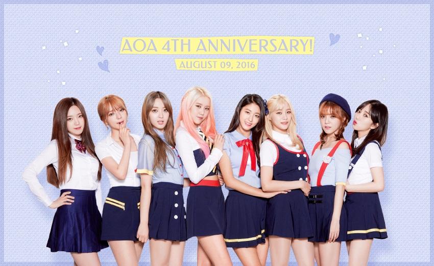 而且更讓人驚喜的是…看看AOA臉書更新的照片,這次真的是完全體了!讓我們來數數看人數…竟然是8個人啊!!最左邊的成員是已經許久沒有和AOA合體的AOA Black成員有慶(Y)啊~~