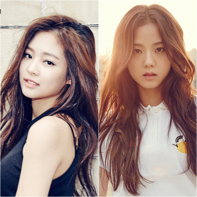 從左上的圖來看Black Pink的成員有才剛出道就被說是雪炫和娜恩和子瑜綜合體的Jennie、還有未出道就已經和李敏鎬、金秀賢等大咖共同演出過的成員Jisoo