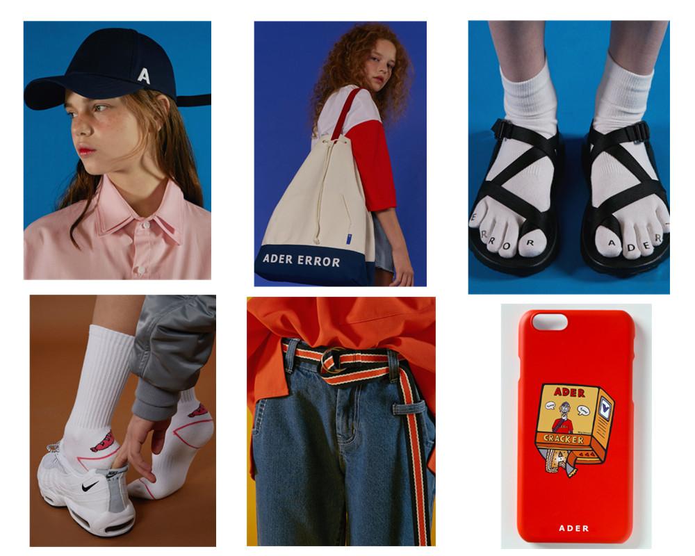 除了衣服,該品牌還推出了帽子、包包、鞋子、襪子、帆布腰帶、手機殼等配飾,設計的也都很有趣。