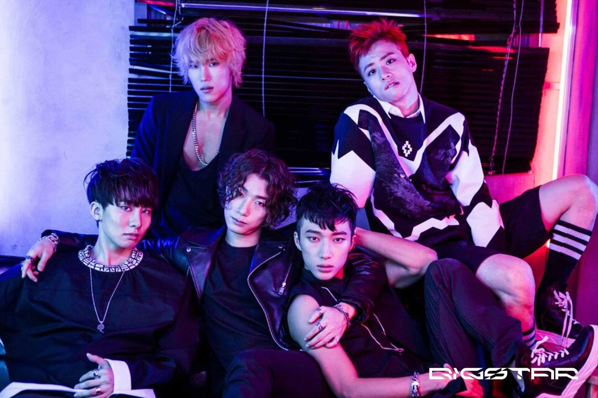 這一團名叫「BIGSTAR」的5人男團,其實2012年夏天就出道啦!算一算跟EXID同年出道,但是EXID熬出頭~這一團還沒啊....