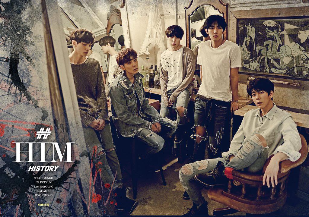 4月 出道4組 代表團體:History  出道團體delight(女團)/GI(女團)//Pure(男團)/Heaven(男團)