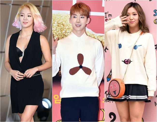 沒錯!這次合作的組合真的很讓人意外吧!SM舞后孝淵、JYP趙權以及miss A的Min!