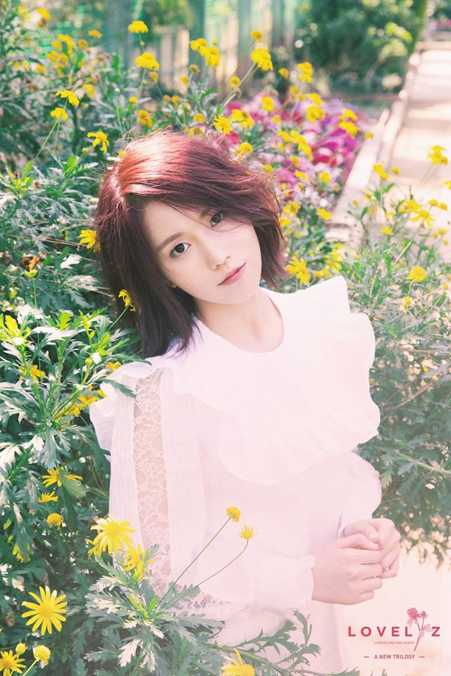 Lovelyz JIN 有粉絲覺得JIN這樣的髮型多了一點知性成熟美,很適合當幼稚園老師嗎?(笑)