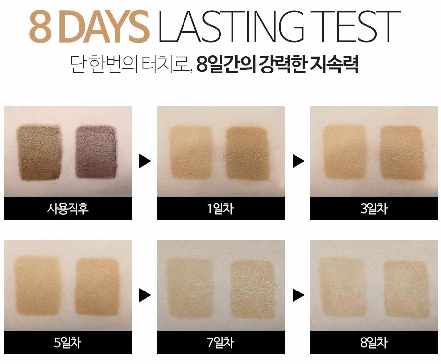 一共有兩種色號供你選擇,分別為比較淺的#01_Light Brown、及較深的#02_Natural Brown,選擇適合自己的顏色就好~~~~~