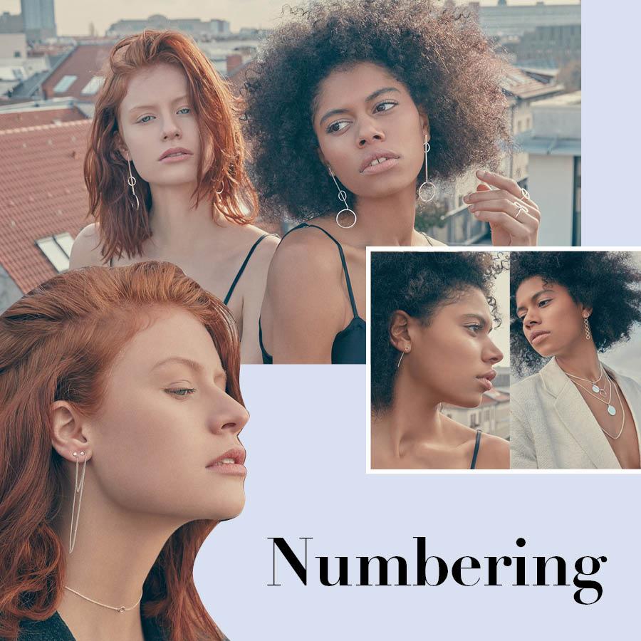 第一個品牌 'Numbering' 2014年Numbering以感性的廣告跟獨特的設計開始受到人們的廣泛關注,在簡單的銀環中鑲嵌數字,給人不一樣的視覺享受!
