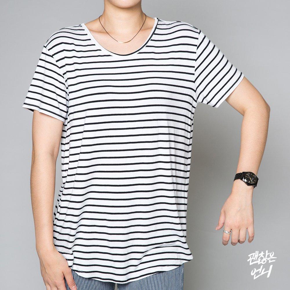 ▶ 袖子 避免選擇袖長太短或是袖管太窄的T-shirt!