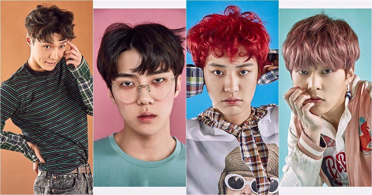 #10.4年 被EXO大軍攻佔的練習生4年~除了有SM推出的EXO旗下Lay、世勳、燦烈、Xiumin外,還有SJ的強仁(SM)、朴春(YG)、JYP的Jun.K、及前f(x)成員雪莉。而且雪莉其實練習生四年,還不包含先前在演技學校的時間。