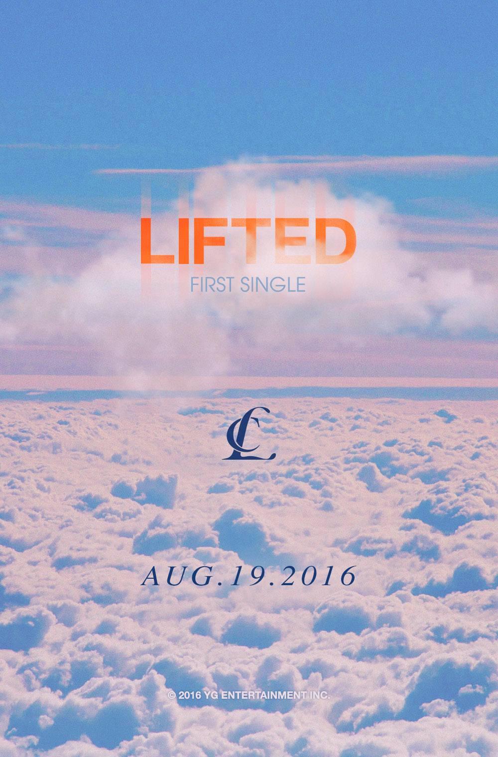 而今天,YG娛樂大公開,下一位回歸的主人翁竟然跌破大家眼鏡,確定是2NE1的CL,歌曲名《LIFTED》,為何是「首張單曲」,據了解,這是進入美國市場的正式單曲~