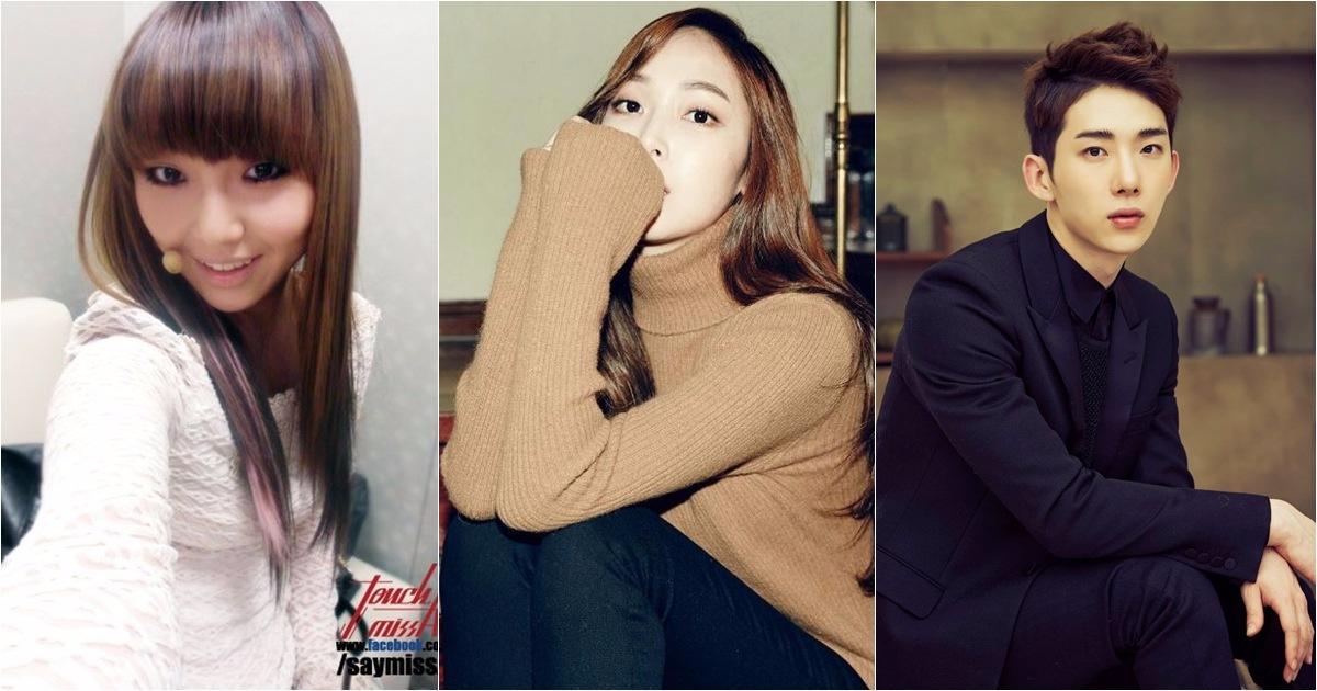 #04-7.5年 missA Min(JYP_、Jessica (於SM出道)、2AM(JYP) missA的 Min也曾被送往美國受訓,是JYP過去曾預計推出的大型女團的預備成員,後因計劃延宕,改以missA成員身份出道。和Jessica一同被星探發掘的Krystal則在之後練習了3.5年。