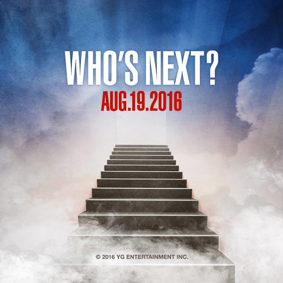 不過要說最神秘的,絕對還要算上16號公佈的「WHO'S NEXT」用來預告誰是下一個發片的歌手