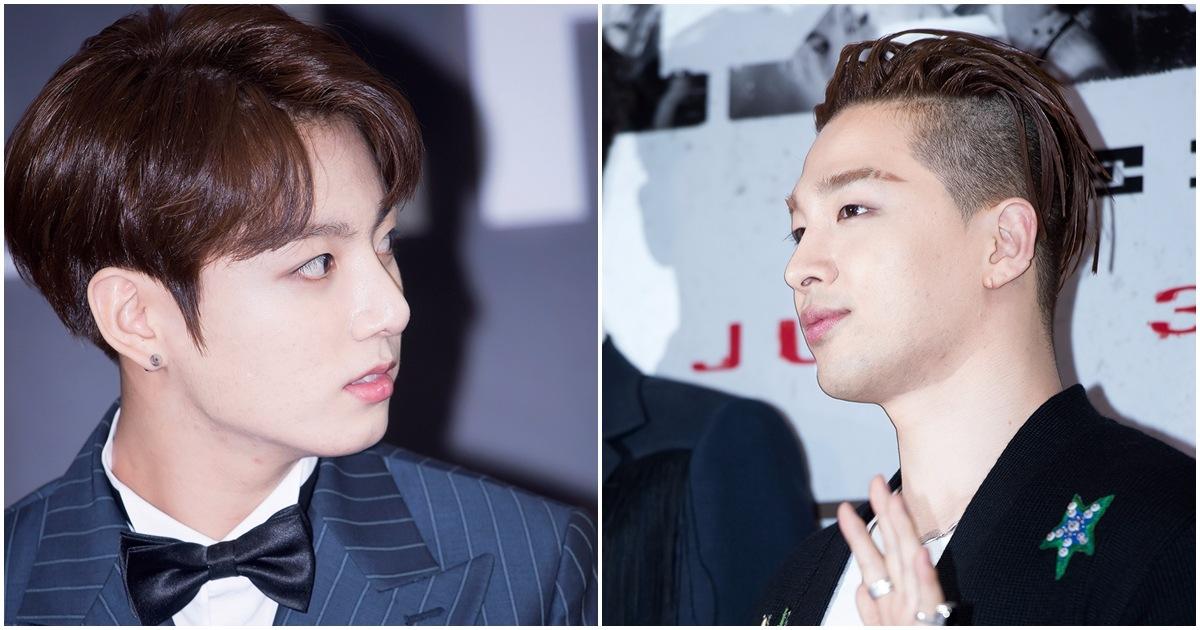 主唱人選呢...在這兩位中苦惱了很久..! BTS的黃金忙內柾國,  還有 BIGBANG的太陽....!    粉絲們的選擇是??