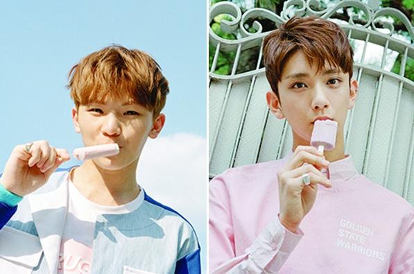 唱20秒以上的成員有Woozi和Joshua,Woozi共唱了26.78秒,Joshua則有21.52秒~
