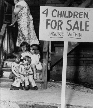 1948年 因貧窮被販賣的芝加哥孩子們