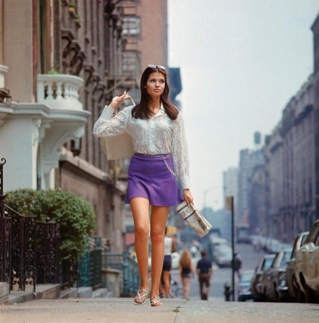 1969年夏天 紐約刮起了迷你裙熱風