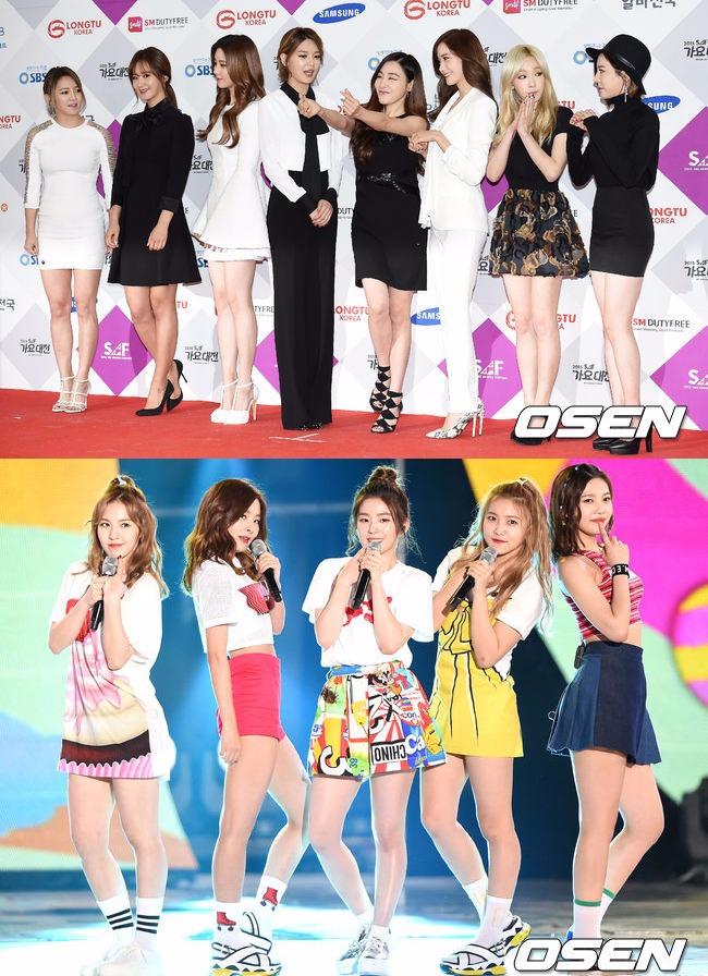同為當紅的大勢女團,還都是同一間娛樂公司,最近韓國網友發現這兩大女團的成員之間存在著一件非常有趣的巧合(?)