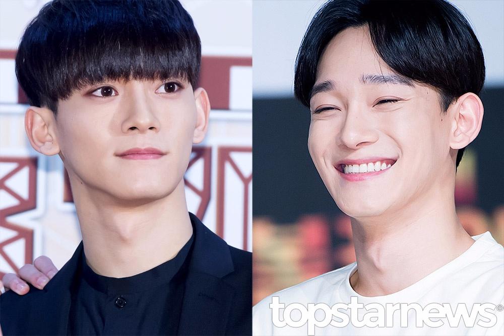 EXO-Chen Chen狼奔頭還是保有鄰家哥哥的感覺~ 妹妹頭看起來年輕又更有魅力><