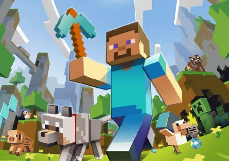 第6名 <Minecraft> 被台灣玩家簡稱為「麥塊」的遊戲想必不少人都體驗過,不需要再被框限住你的創意,無限的素材、無限的世界模組等著你「自己」去創造,絕對是打破遊戲思維的新型態遊戲