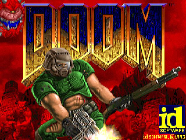 第4名<毀滅戰士系列> 在奠定3D FPS類別遊戲基礎的同時,讓多人連線類別遊戲更加普及的大作