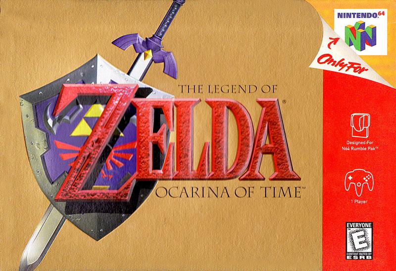 第3名<薩爾達傳說 時之笛> 和<超級瑪莉64>同時上市的無數3D遊戲中,帶來最大影響的<薩爾達傳說 時之笛>是<薩>系列中的第5代作品