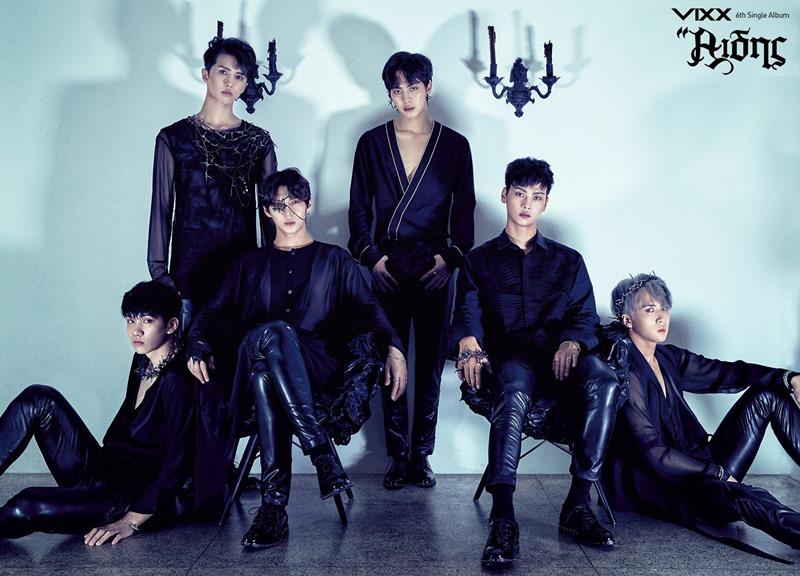 ★VIXX 出道日期:2012年5月24日 現任成員:N、LEO、KEN、RAVI、HONGBIN、HYUK