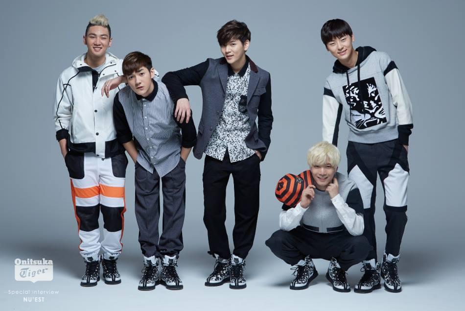 No.13 Nu'est 平均身高 178.4 *並列 Aron 176、JR 178、BaekHo 179、MinHyun 181、Ren 178