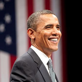 就是他!美國第44任總統Barack Obama!