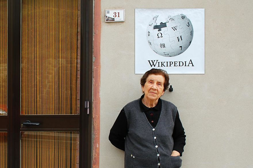 「WIKI」圖書館就是爺爺奶奶們的百科全書 所有不懂的都可以來問哦!
