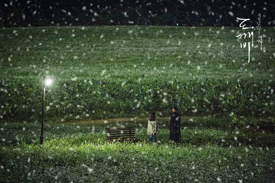 劇組在14日首度公開了男女主角孔劉、金高恩的同框劇照,雖然照片中的氛圍,看起來確實很有感覺沒錯啦…