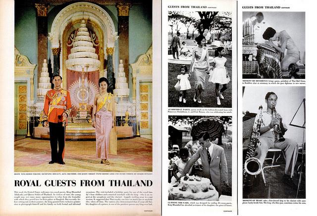 泰王雖然沒有實權,但一直密切關心各地區的民眾,所以非常受泰國民眾愛戴,在泰國人民心中,泰王就像是神一般的崇高!