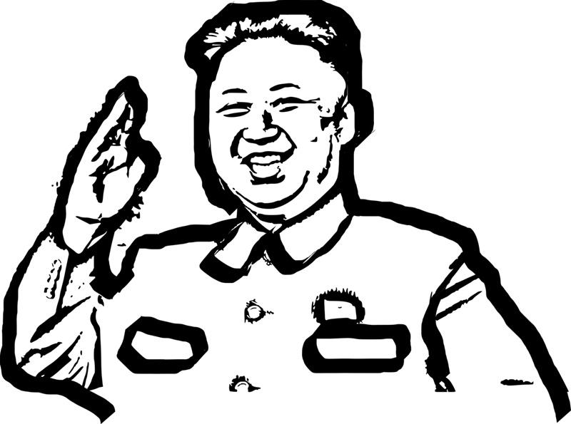 mmmm...跟某些北韓人民「非自願的」把君王當神是不一樣的啦