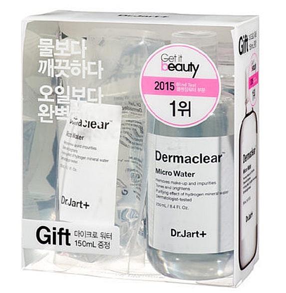 Dr.Jart+ 活性水分子礦泉卸妝水限量加大組  原價$880  特價$528 這卸妝水是小編去韓國就算行李快超重也會扛回來的東西,能深層潔淨肌膚,卸妝潔顏一瓶搞定超方便!