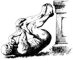 那「搞笑諾貝爾獎」大家知道嗎? 搞笑諾貝爾獎(Ig Nobel Prize)是把 Ignoble(不名譽的)和 Nobel Prize(諾貝爾獎)2個詞結合,但它並不是要攻擊或是黑特諾貝爾獎,而是把諾貝爾獎當作一個梗。 (搞笑諾貝爾獎官方吉祥物「The Stinker」,是倒在地上的思想者)