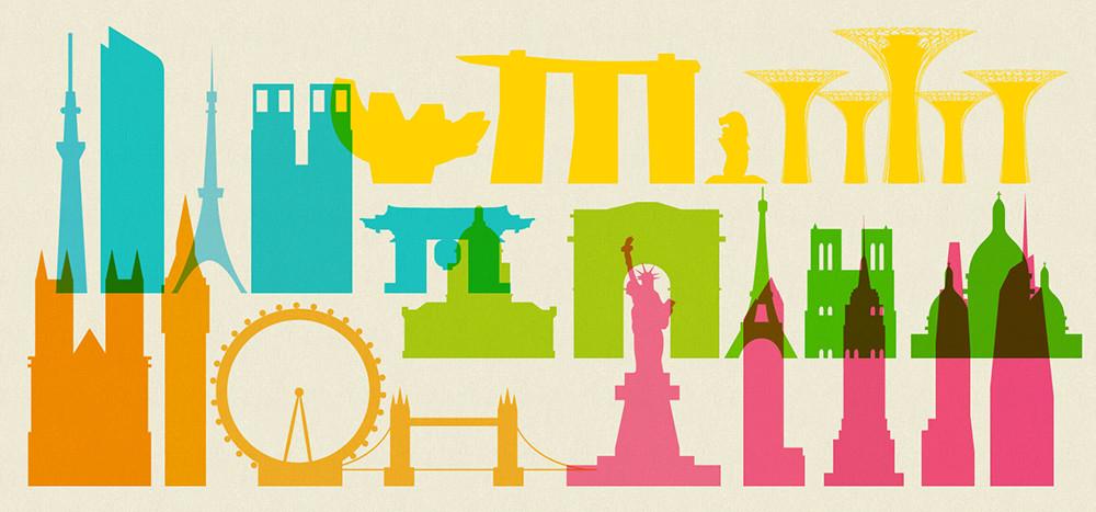 日本「森紀念財團都市戰略研究所」從2008年開始,每年都會針對世界知名的42座城市,綜合經濟、研究與開發、文化與交流、居住、環境以及交通等六個層面、70項指標,來做排行。