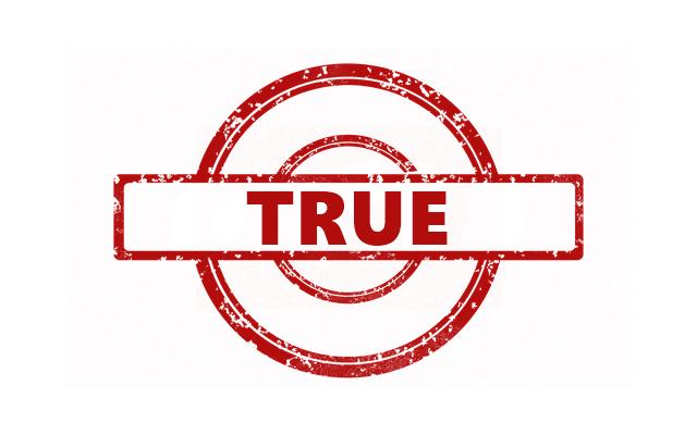 那就是「真相認證」標記 (保證是真的,聽起來是不是很厲害XD)