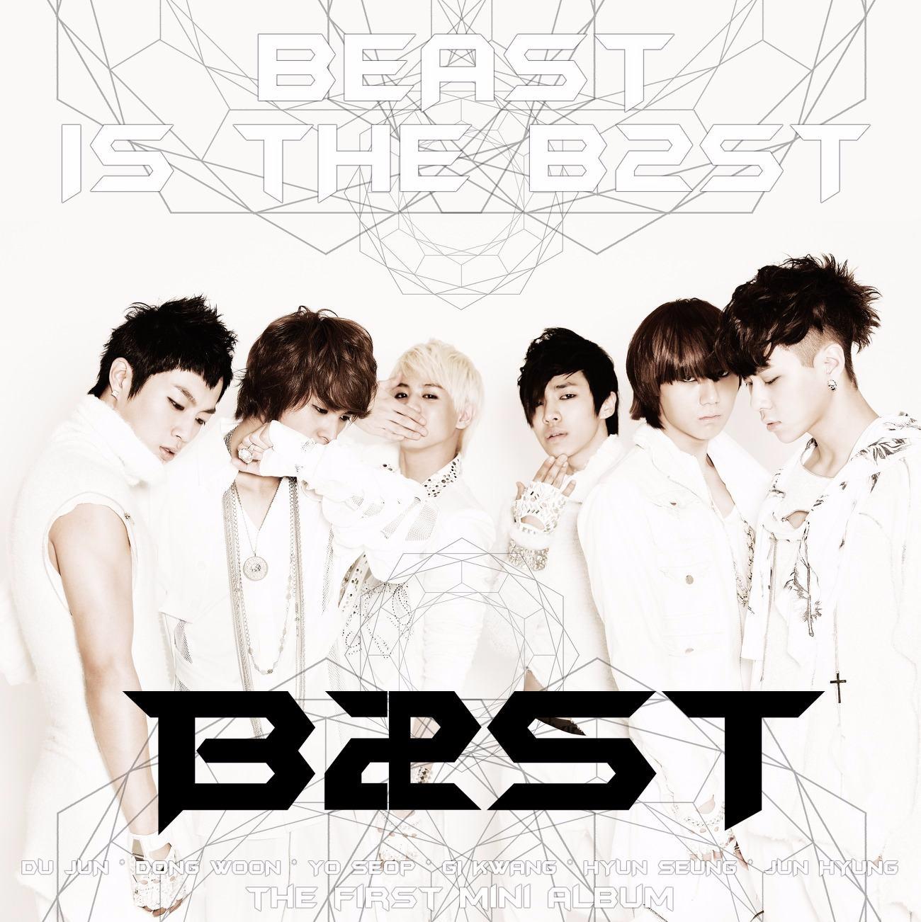 BEAST 出道日期: 2009年10月16日 恩...野獸妝XDDD
