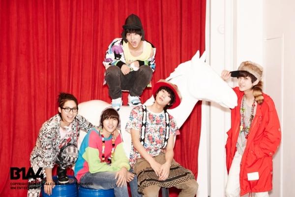 B1A4 出道日期:2011年4月23日