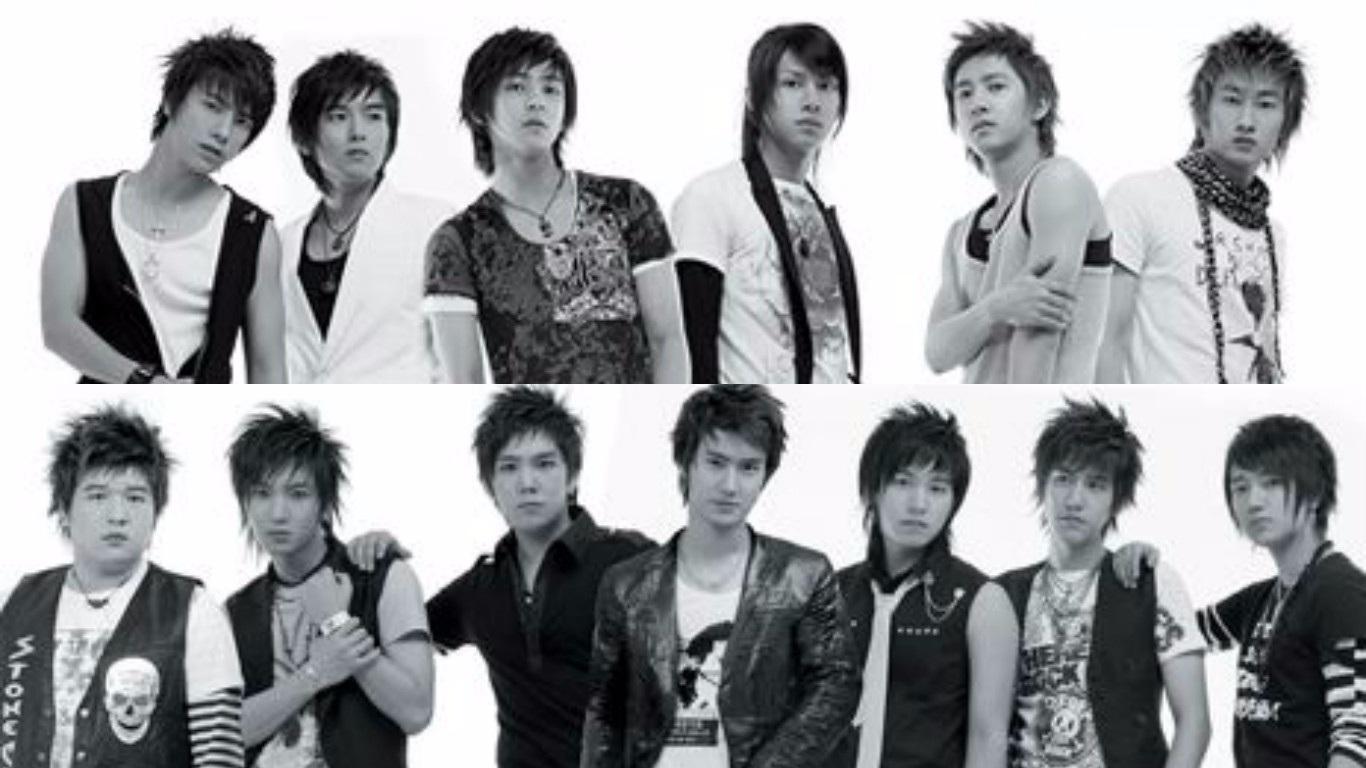 Super Junior 出道日期: 2005年11月6日
