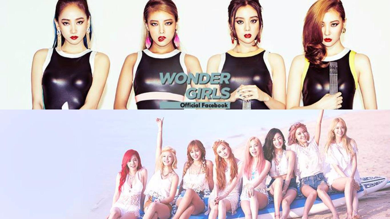 時光倒回到2007年 Wonder Girls VS.少女時代
