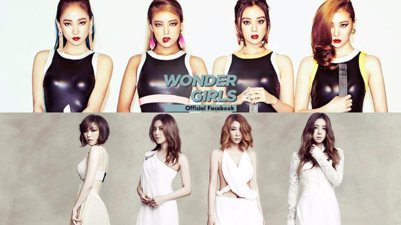 2008年 Wonder Girls VS. Brown Eyed Girls