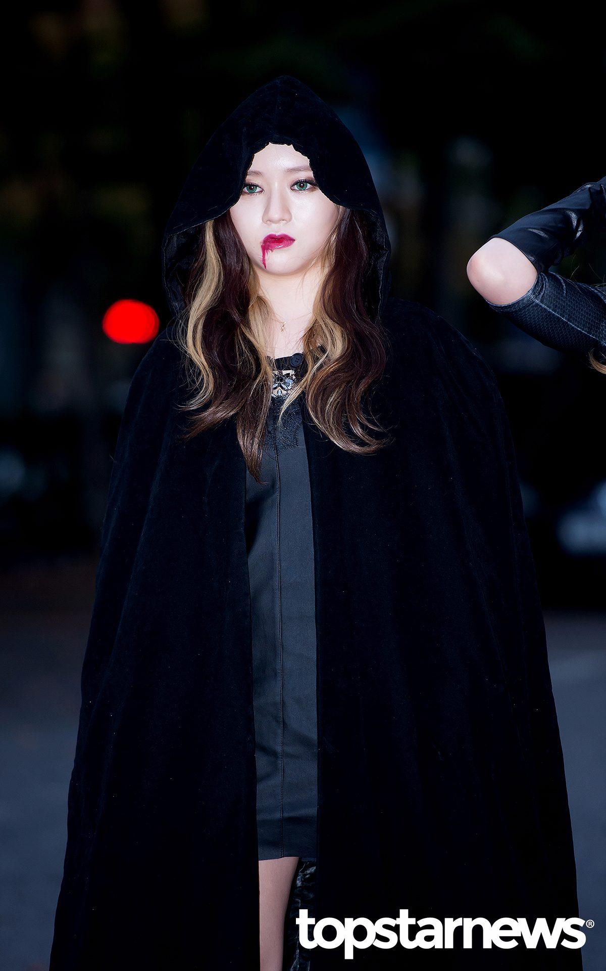 #8 LADIES' CODE_So Jung  這如果走在路上大概會嚇跑一堆人吧(((゚Д゚;)))